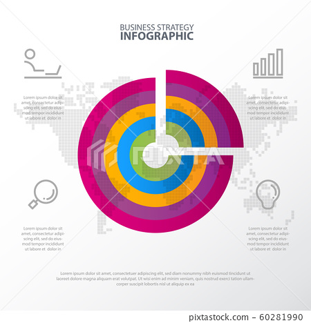 Timeline Business strategy infographic design 60281990