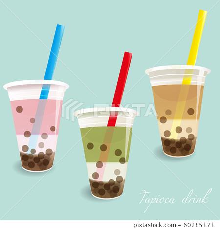 타피오카 음료 3 종류 60285171