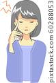Woman with headache 60288053
