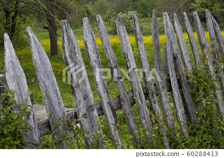 Wooden Fence Turkey 60288413