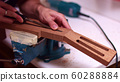 Guitar maker widen guitar neck truss rod  60288884