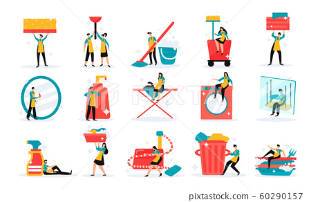 Cleaning Service Set  60290157
