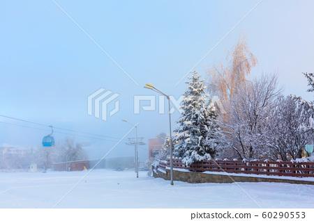 Ski resort Bansko, Bulgaria panorama 60290553