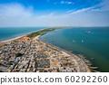 Aerial view of fishing village of Djiffer. Saloum 60292260