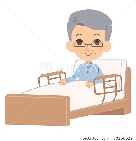 護理床老人 60300928