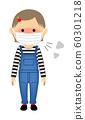 女孩感冒 60301218