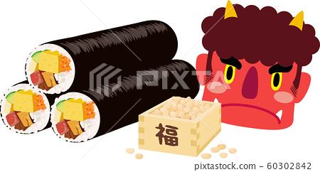 江kata卷豆Maki Akaoni左 60302842