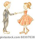 Child pair 3 performing ballroom dance 60307638