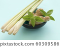 Herbs and spices in a bowl 60309586