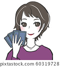 Tarot fortune teller woman 60319728