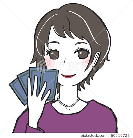 타로 점술 여성 60319728