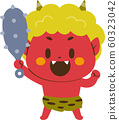 A demon with a gold bar 60323042