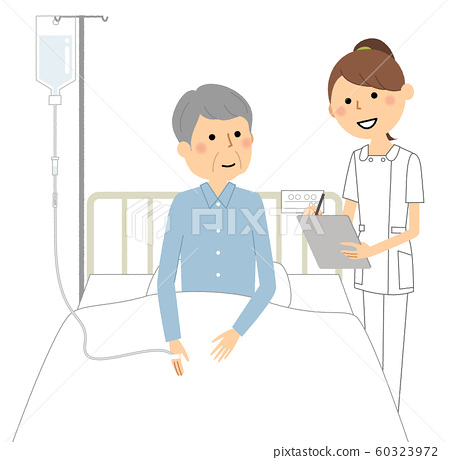 住院和護士 60323972