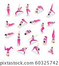 Fitness Yoga Woman Set  60325742