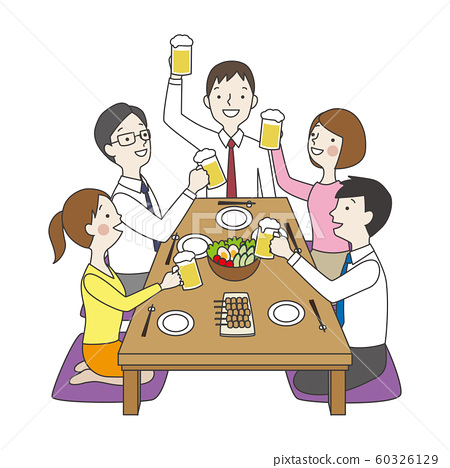 一個飲用的黨的例證 60326129