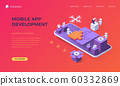 Landing page for mobile app development 60332869