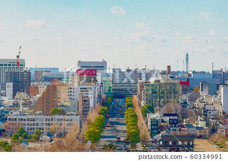 [Hyogo Prefecture] Himeji cityscape 60334991