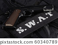 SWAT (Special weapons and tactics team) weapon 60340789