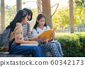 Group student young people and education reading 60342173