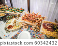Buffet with a variety of delicious sweets, food ideas, celebration 60342432