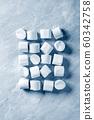 White pink marshmallow 60342758