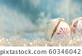 Festive Christmas decorative ball with abstract 60346042