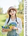 농업 여자 라이프 스타일 야채 60362117