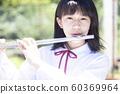 女笛演奏初中女孩高中女生 60369964
