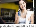 Female fitness smartphone 60371143
