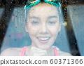 女子运动游泳 60371366
