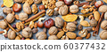 Background of mixed nuts 60377432