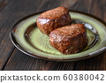 Filet mignon on the plate 60380042