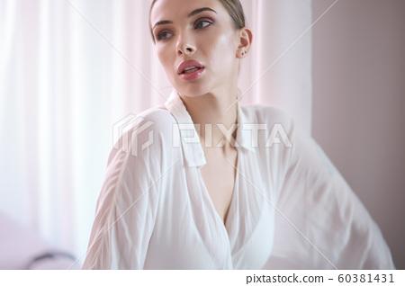 Beautiful woman at home 60381431