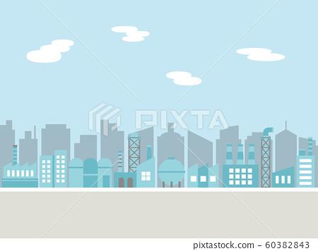 공업 지대의 거리 풍경 60382843