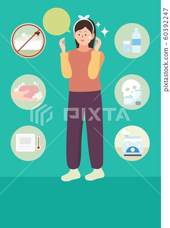 health care in winter illustrations 006 60392247
