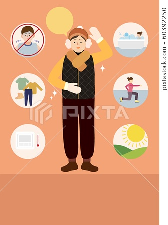 health care in winter illustrations 004 60392250