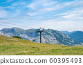 mountain scenery in Austrian Alps I meet at the paths hikes 60395493