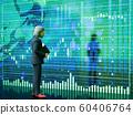 股票圖表和男人 60406764