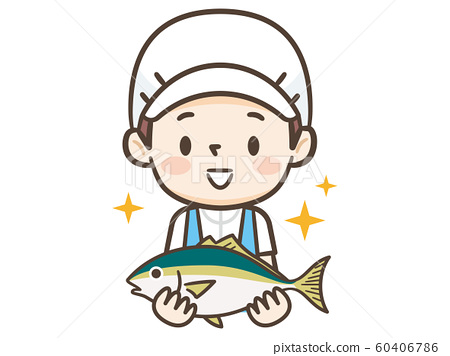 조리사 물고기 60406786