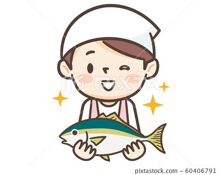 조리사 물고기 60406791
