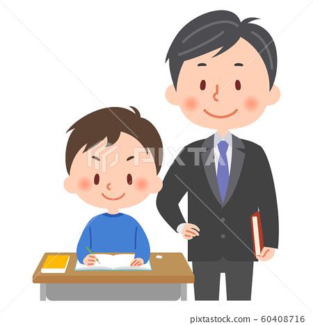 學習老師和學生 60408716