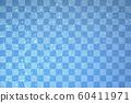 Japanese checkered pattern background 60411971