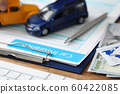 Documents for vehicle insurance 60422085