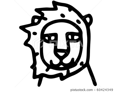 Animal Line Drawing Lion Stock Illustration 60424349 Pixta At this stage leave out any of the smaller details. pixta