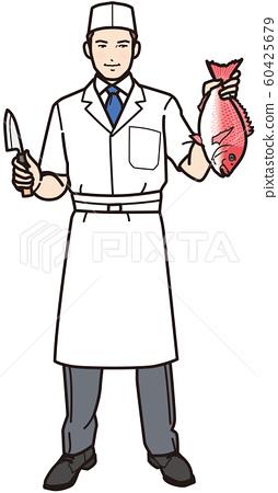 도미을 가진 요리사 60425679