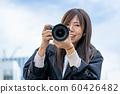 카메라 여자 60426482