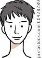 男发型短发 60428289