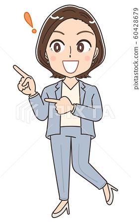 Career woman illustration 60428679