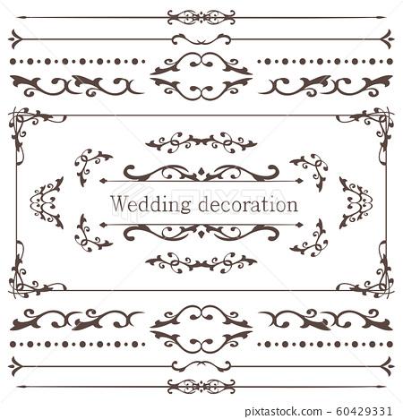 婚禮裝飾設計材料集 60429331