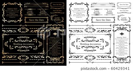 婚禮裝飾設計材料集 60429341